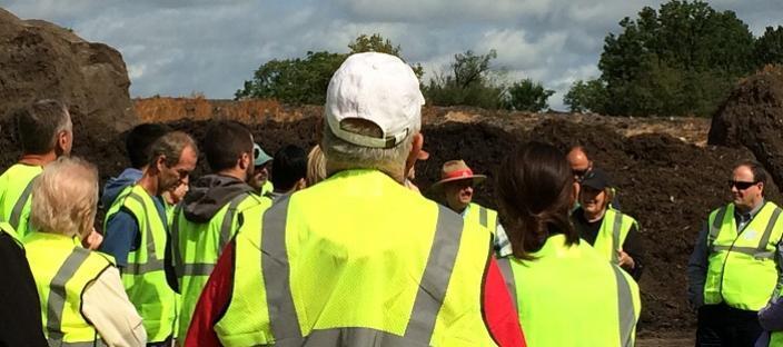 Composting tour 2018.