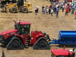 Equipment demonstrations at the 2017 Manure Science Review